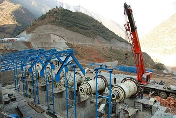 贵州制砂生产线