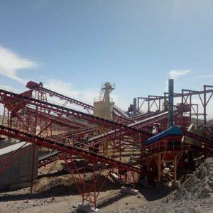 石灰石建筑骨料生产线